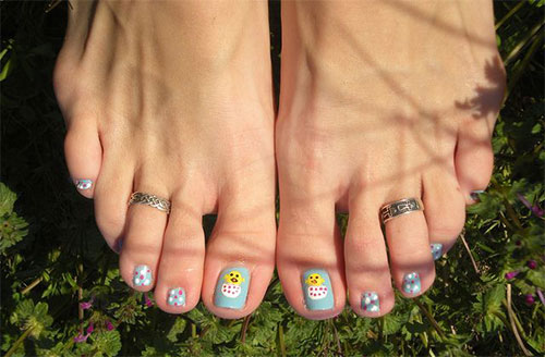 Easter Toe Nail Art Designs Ideas Trends Stickers 2015 2 Easter Toe Nail Art Designs, Ideas, Trends & Stickers 2015