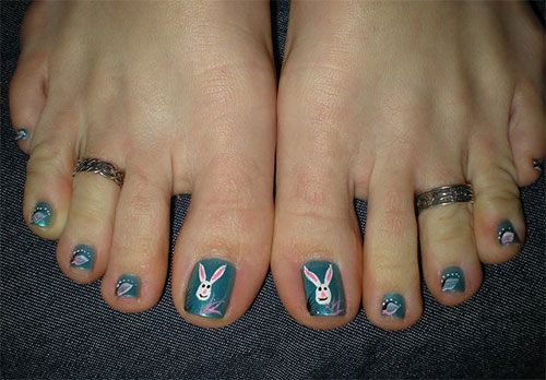 Easter Toe Nail Art Designs Ideas Trends Stickers 2015 3 Easter Toe Nail Art Designs, Ideas, Trends & Stickers 2015