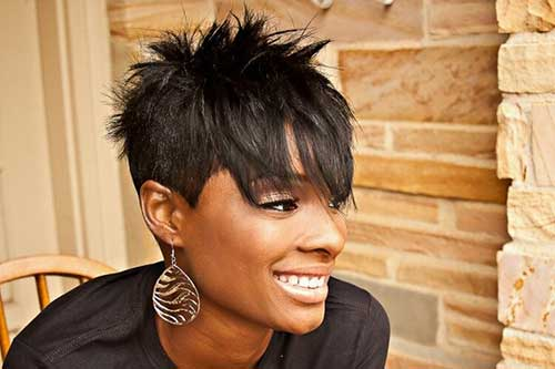 Best Spiked Black Women Hair