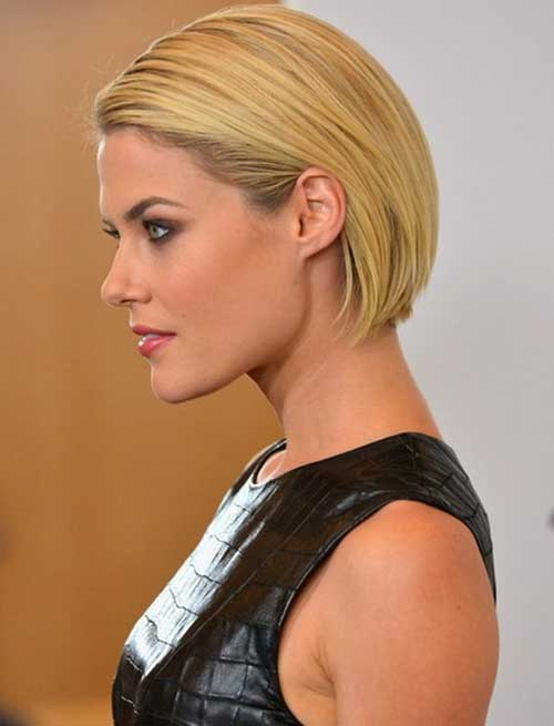 Rachael Taylor Straight Bob Hairstyles