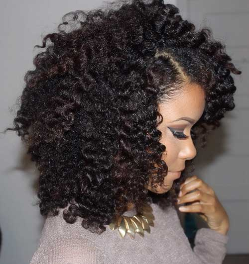 Short Natural Black Women Hairstyles