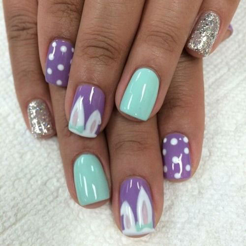 20 Easter Bunny Nail Art Designs Ideas Trends Stickers 2015 3 20 Easter Bunny Nail Art Designs, Ideas, Trends & Stickers 2015