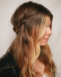 Half Braid Hairstyles