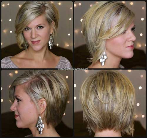 Short Asymmetrical Haircut for Women