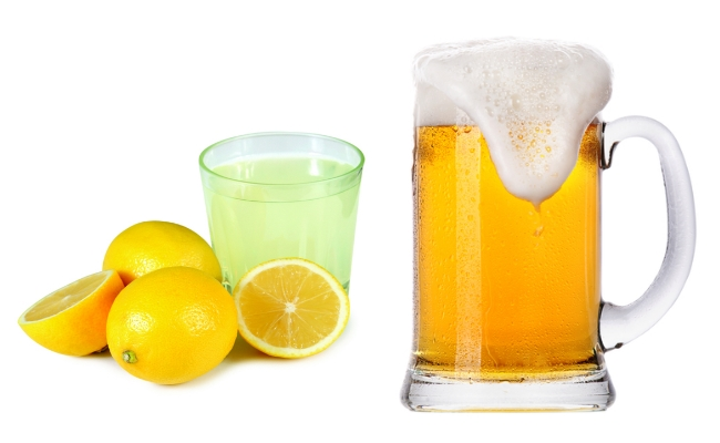 Beer And Lemon Juice Mask