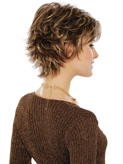 Messy Layered Pixie Hair Cut