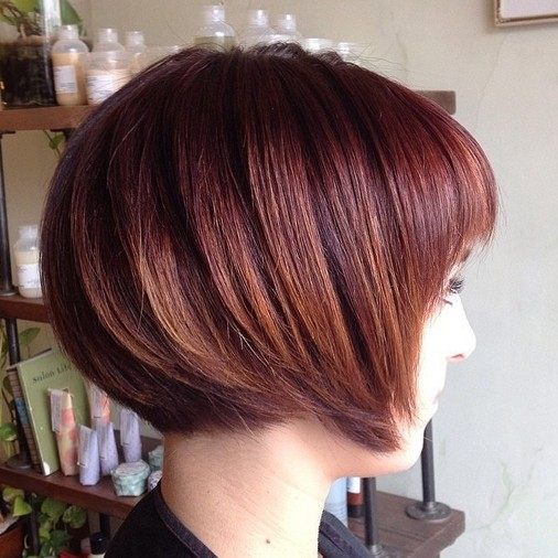 Trendy Straight Bob Haircut