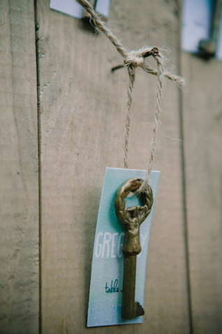 Vintage key escort card | Irinia Kilmova Photography | see more on: http://burnettsboards.com/2015/03/winter-forest-wedding/