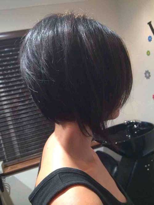 Inverted Bob Back View