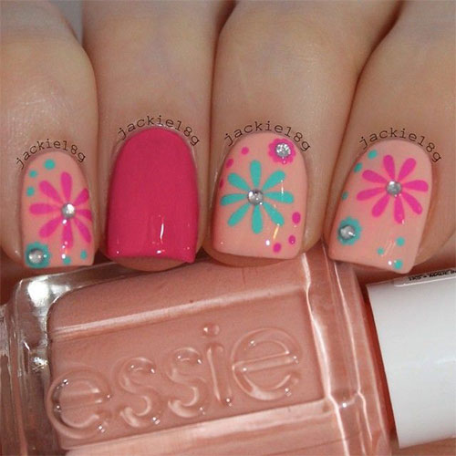 15 Spring Flower Nail Art Designs Ideas Trends Stickers 2015 15 15+ Spring Flower Nail Art Designs, Ideas, Trends & Stickers 2015