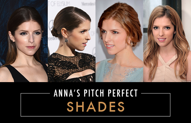 Anna Kendrick's Hair Colour Brunette and Redhead