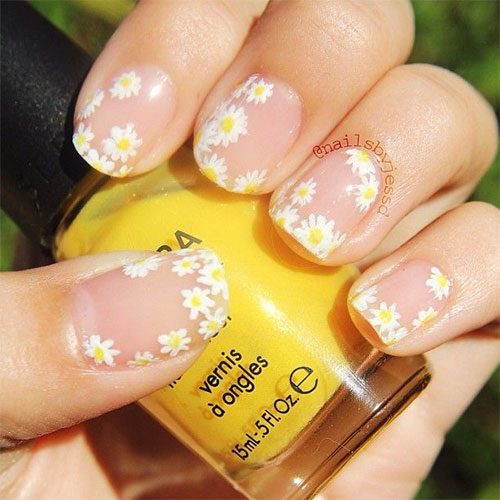 15 Spring Flower Nail Art Designs Ideas Trends Stickers 2015 5 15+ Spring Flower Nail Art Designs, Ideas, Trends & Stickers 2015