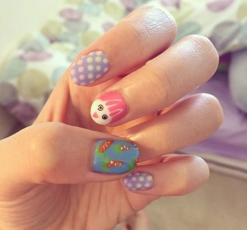 20 Simple Easy Cool Easter Nail Art Designs Ideas Trends Stickers 2015 11 20 Simple, Easy & Cool Easter Nail Art Designs, Ideas, Trends & Stickers 2015