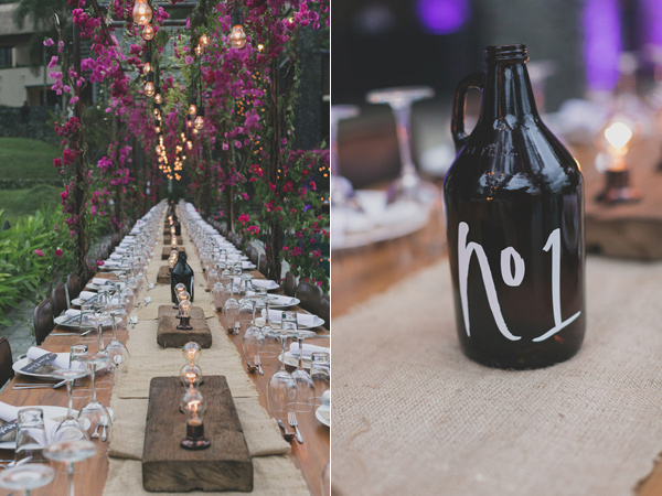 unique wedding receptions - photo by Jonas Peterson http://ruffledblog.com/exotic-garden-party-wedding-in-bali