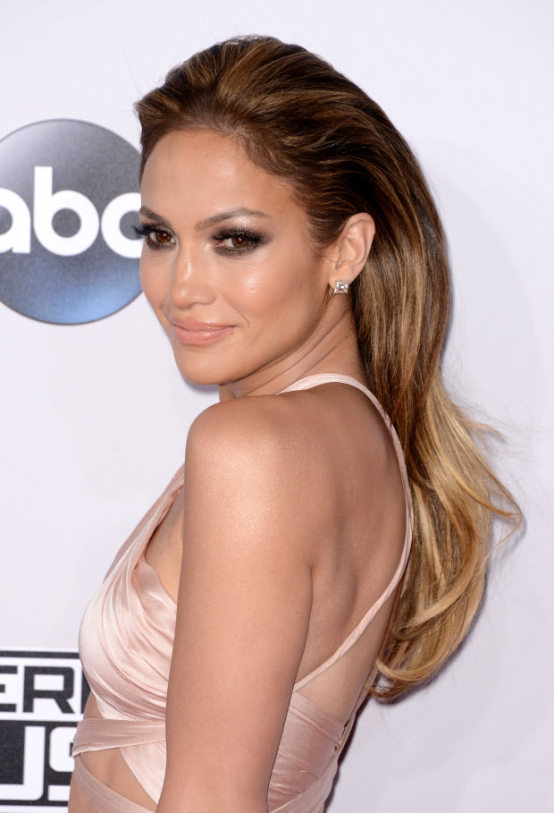Jennifer Lopez at the 2014 American Music Awards.