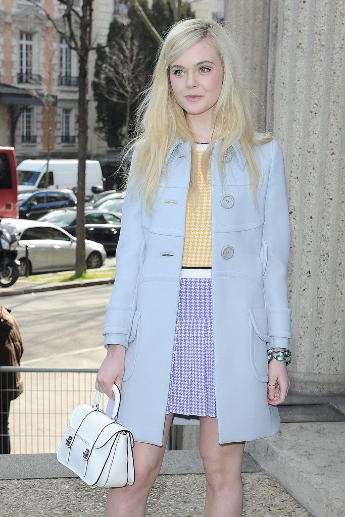 elle fanning pastels outfit Teen Fashion Icons Everyone Is Watching