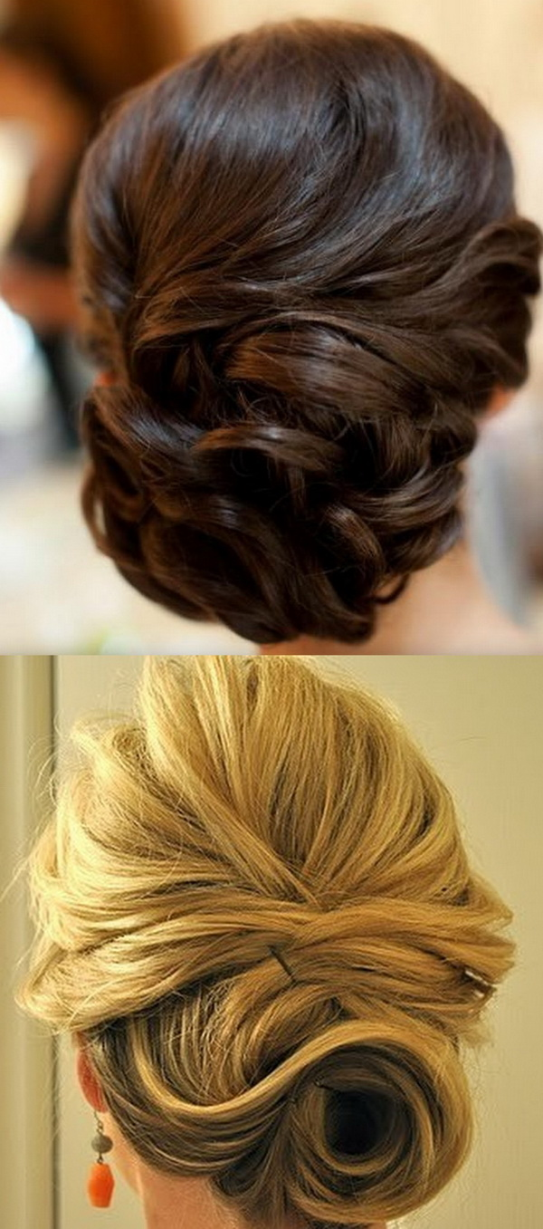 2014 Wedding Updo Hairstyles 7