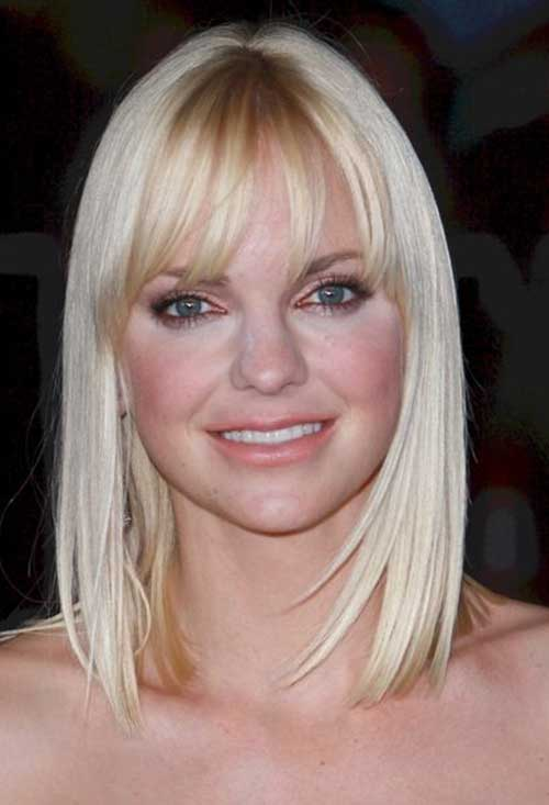 Shoulder Length Hair with Bangs for 2015