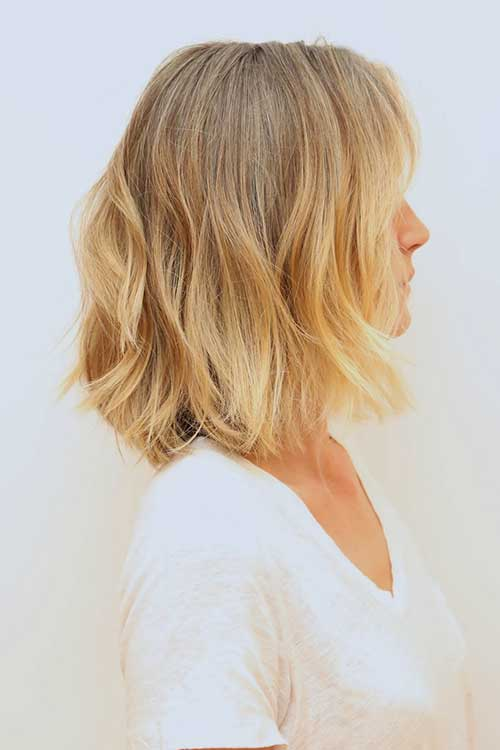 Soft Blonde Natural Medium Hair