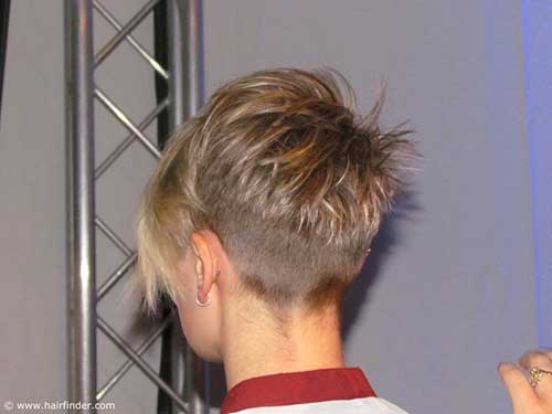 Back View Pixie Cuts for Girls