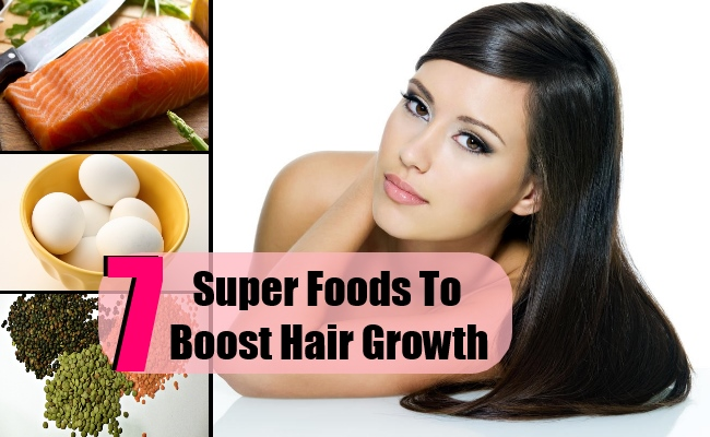 7 Super Foods To Boost Hair Growth