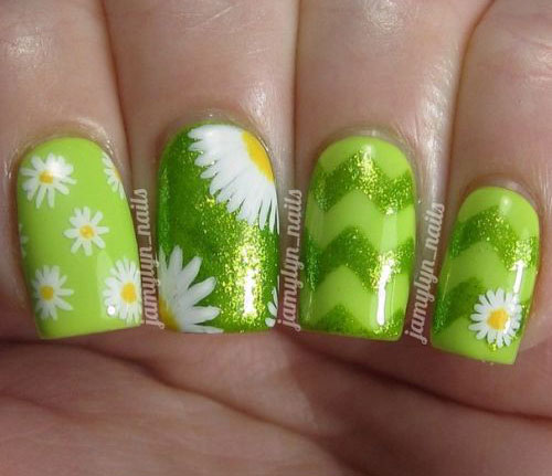 15 Easy Spring Nail Art Designs Ideas Trends Stickers 2015 14 15 Easy Spring Nail Art Designs, Ideas, Trends & Stickers 2015