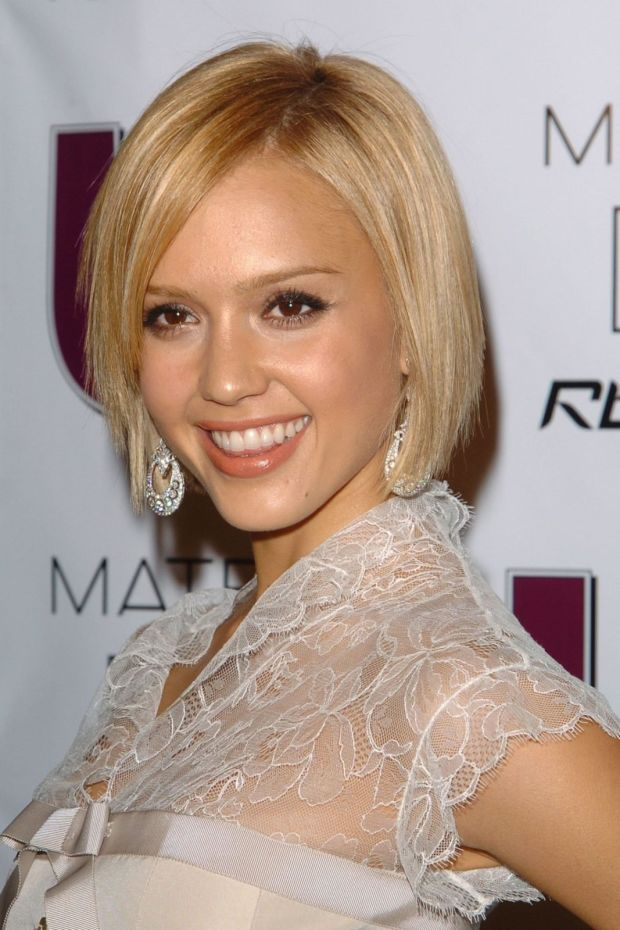 Jessica Alba's pale blonde at the 2005 Young Hot Hollywood Style Awards.