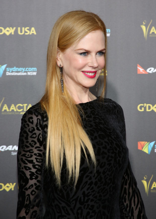 Nicole Kidman's light copper hair at the 2015 G'Day USA Gala.