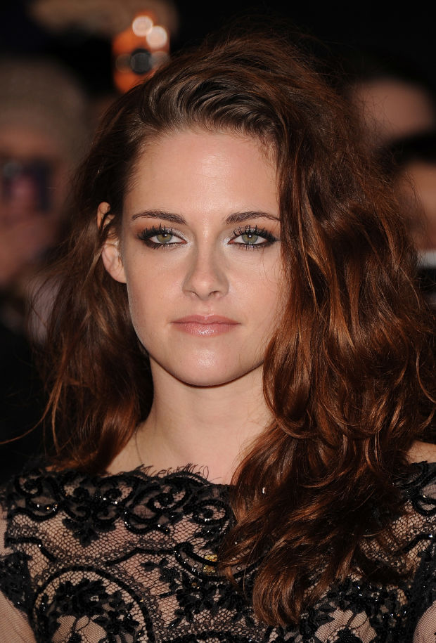 Kristen Stewart at the 2012 premiere of 'The Twilight Saga: Breaking Dawn - Part 2'.
