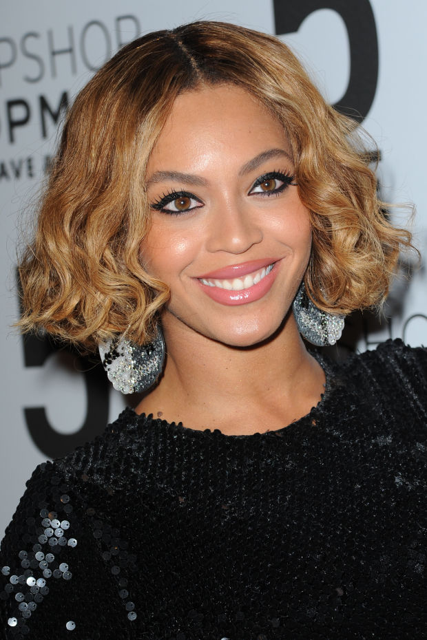 Beyoncé at the 2014 Topshop New York City flagship opening dinner.