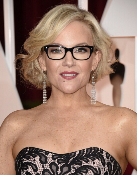 Rachael Harris Formal Curled Out Bob Hairstyle