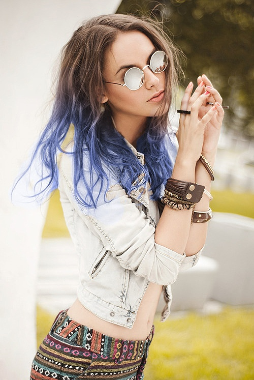 blue-hair-style-trend