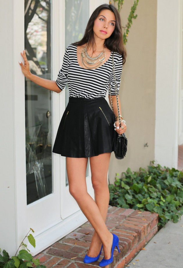 outfits to wear with statement necklace (4)