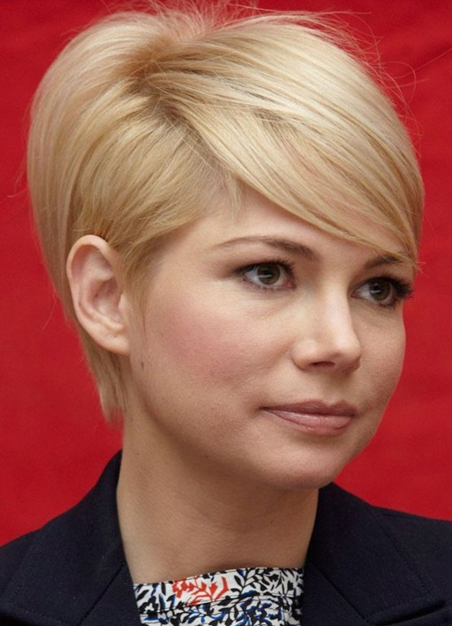 Short Pixie with Side Bangs