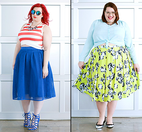 Spring is all about the #midimoment according to plus-size fashion brand Eloquii.