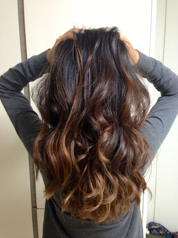Subtle Dark Ombre Style