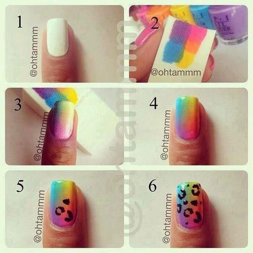 Easy Step By Step Spring Nail Art Tutorials For Beginners Learners 2015 9 Easy Step By Step Spring Nail Art Tutorials For Beginners & Learners 2015