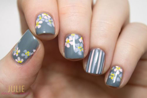 18 Best Spring Nail Art Designs Ideas Trends Stickers 2015 7 18 Best Spring Nail Art Designs, Ideas, Trends & Stickers 2015