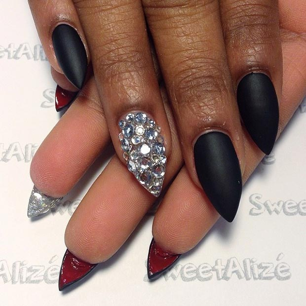 Louboutin Stiletto Nail Design