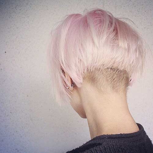 Beautiful Undercut Hairstyle for Girls