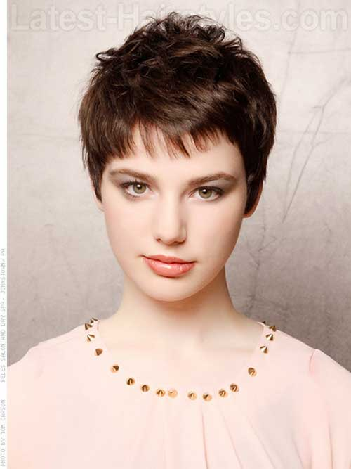 Short Haircuts Fine Hair for Girls