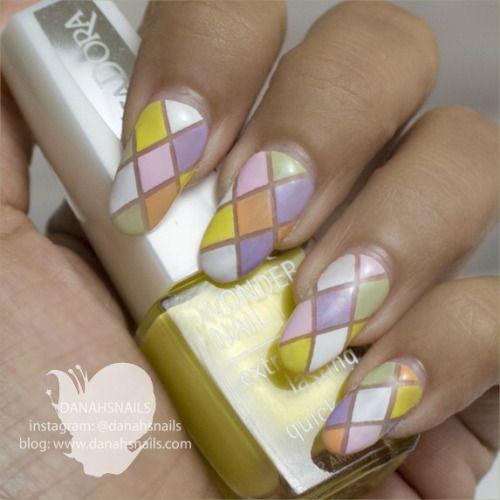 15 Easy Spring Nail Art Designs Ideas Trends Stickers 2015 5 15 Easy Spring Nail Art Designs, Ideas, Trends & Stickers 2015