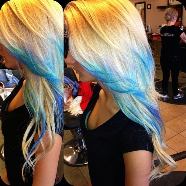 Straight Ombre Hairstyle