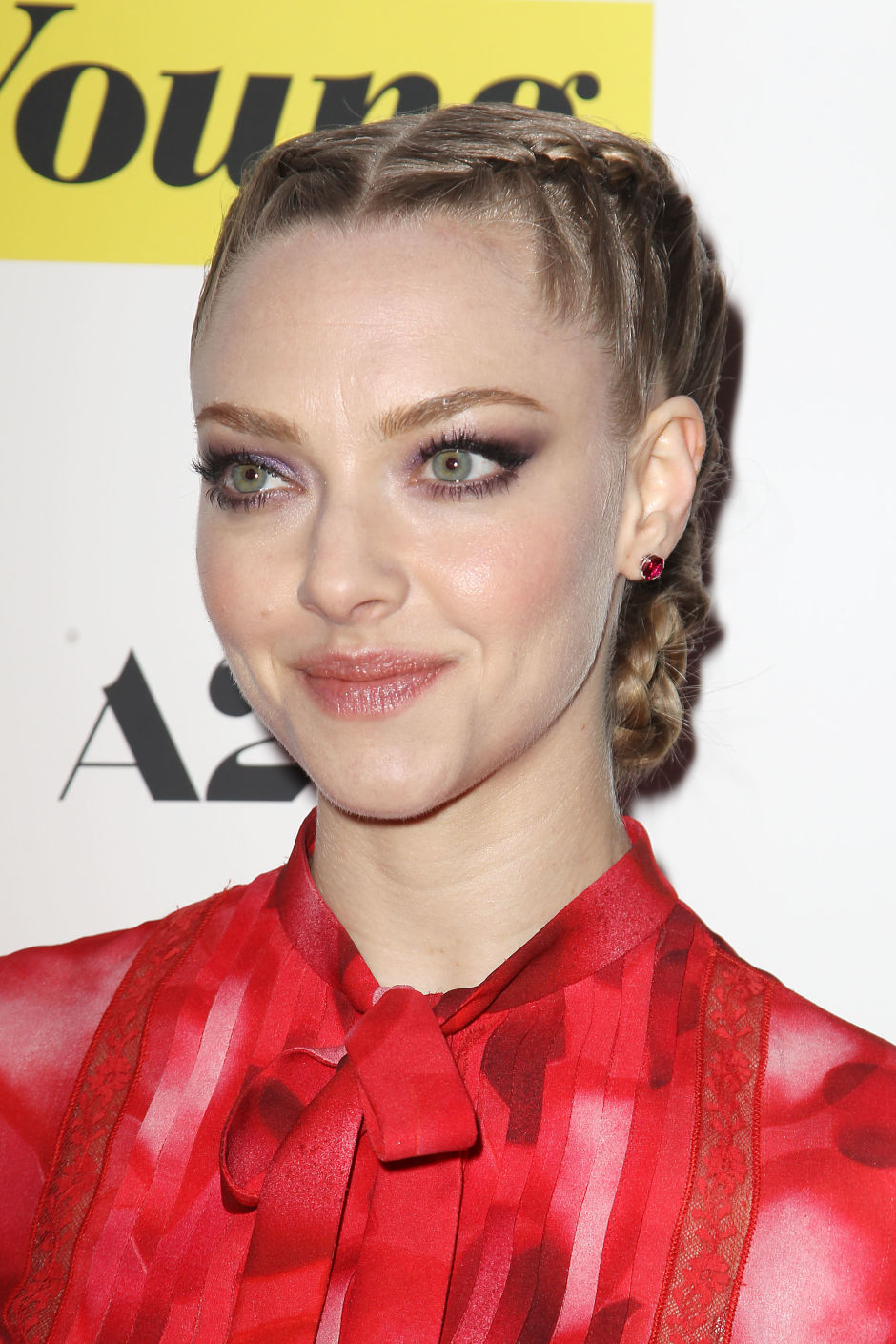 Amanda Seyfried at the 2015 premiere of 'While We're Young'.