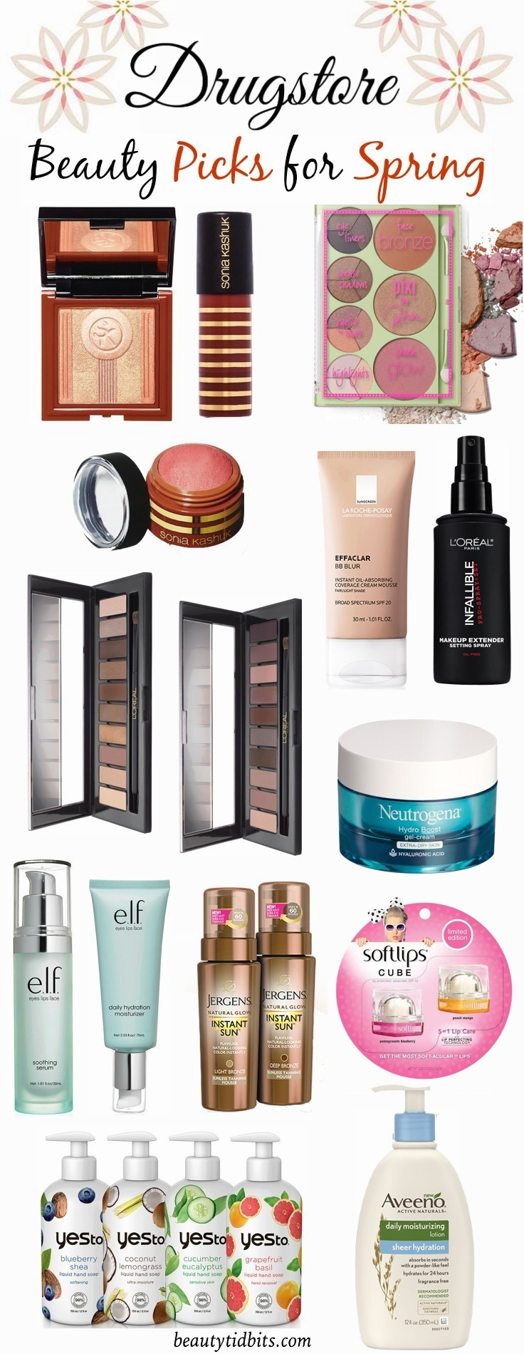 Drugstore beauty picks for Spring 2015