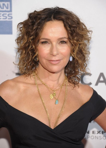 Jennifer Grey Short Hair Style for 2014 - Curly Hairstyle for Thick Hair