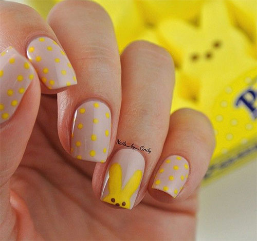 Inspiring Easter Acrylic Nail Art Designs Ideas Trends Stickers 2015 8 Inspiring Easter Acrylic Nail Art Designs, Ideas, Trends & Stickers 2015