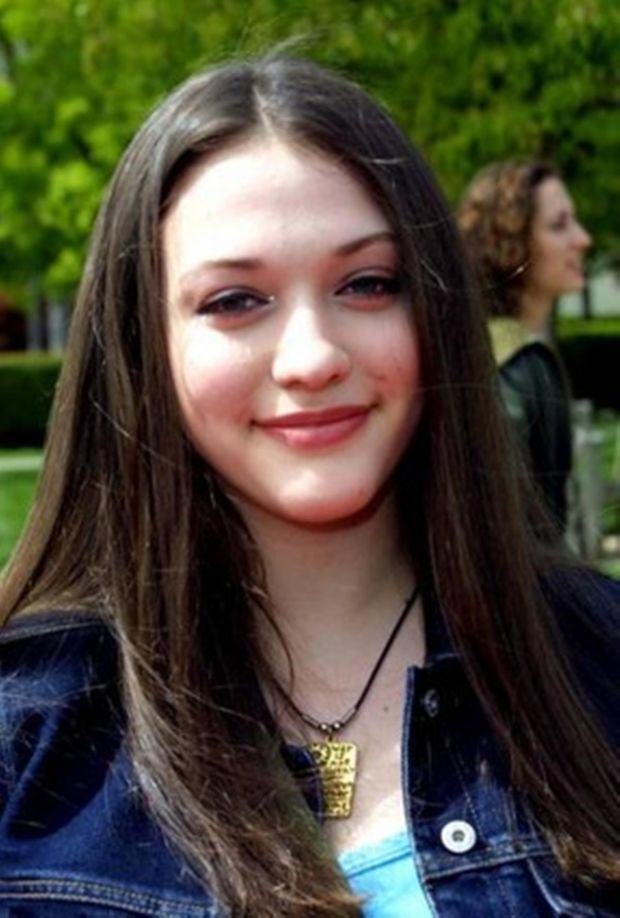 Kat Dennings at the 2002 premiere of 'Clockstoppers'.