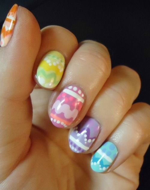 15 Easter Egg Nail Art Designs Ideas Trends Stickers 2015 8 15+ Easter Egg Nail Art Designs, Ideas, Trends & Stickers 2015