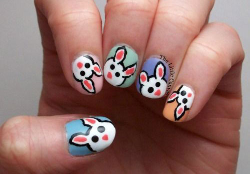20 Easter Bunny Nail Art Designs Ideas Trends Stickers 2015 7 20 Easter Bunny Nail Art Designs, Ideas, Trends & Stickers 2015